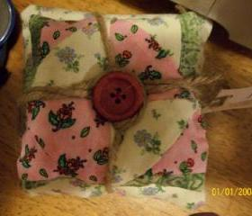 Stacked Pillow Pin Cushion