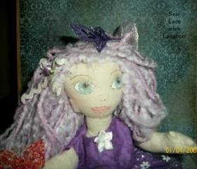 Cloth Doll Fairy Angel